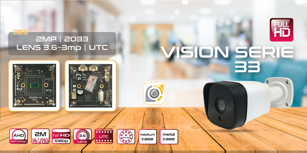 مشخصات دوربین VISION 33